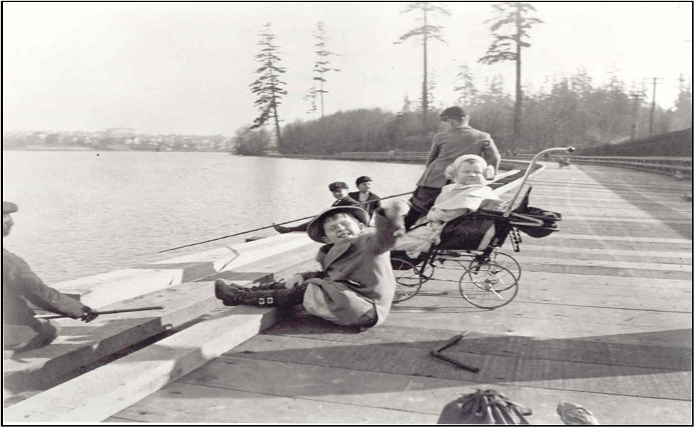Spring Time at Green Lake—1909