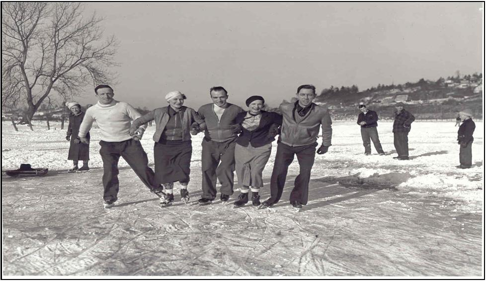 Skating on Green Lake– January 1937