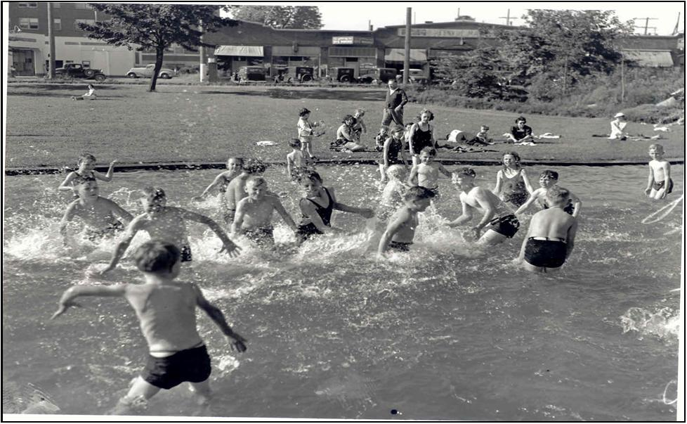 Kiddie Pool at Green Lake—1937